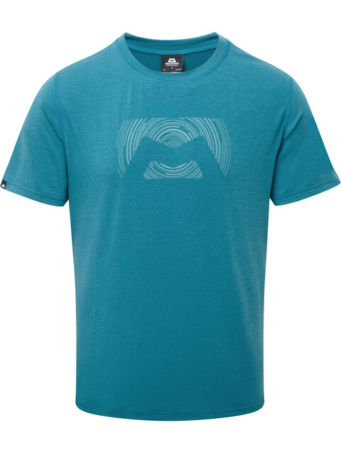 Mountain Equipment Groundup Logo+ - Camiseta manga corta Hombre - azul